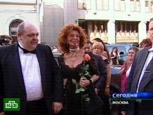 Софи Лорен поцеловала юного обладателя золотого сердца.НТВ.Ru: новости, видео, программы телеканала НТВ