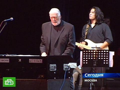 В Москве выступил Джон Лорд.концерт, музыка, рок-музыканты.НТВ.Ru: новости, видео, программы телеканала НТВ