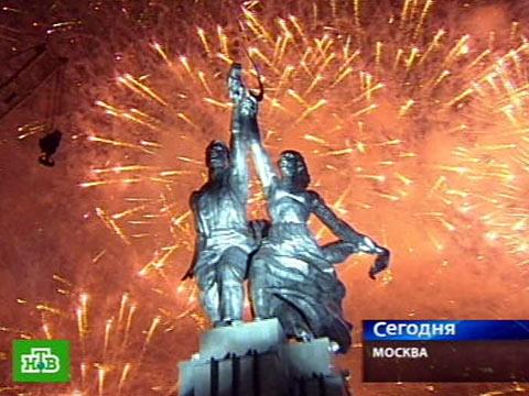 С возвращением, «Рабочий и колхозница»!ВВЦ, Москва, памятники, реставрация.НТВ.Ru: новости, видео, программы телеканала НТВ