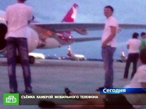 Полиция отпустила туристов-дебоширов.авиация, алкоголь, скандалы, туризм, хулиганство.НТВ.Ru: новости, видео, программы телеканала НТВ