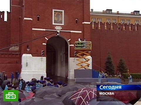 По Красной площади с молитвой.иконы, праздник, религия, церковь.НТВ.Ru: новости, видео, программы телеканала НТВ