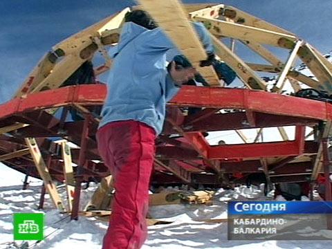 Выше крыши не найти.альпинизм, строительство, Эльбрус.НТВ.Ru: новости, видео, программы телеканала НТВ