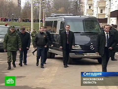Президент осмотрел военный городок.армия, армия России, космос, Медведев, пенсии, строительство.НТВ.Ru: новости, видео, программы телеканала НТВ