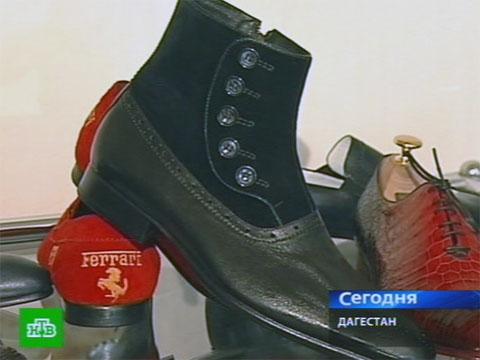 Дагестанский сапожник делает уникальную обувь.Дагестан, обувь, ремесла.НТВ.Ru: новости, видео, программы телеканала НТВ