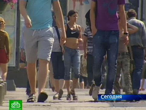 Интеллигенты ратуют за летний дресс-код.жара, мода и дизайн, одежда, погода, Санкт-Петербург.НТВ.Ru: новости, видео, программы телеканала НТВ