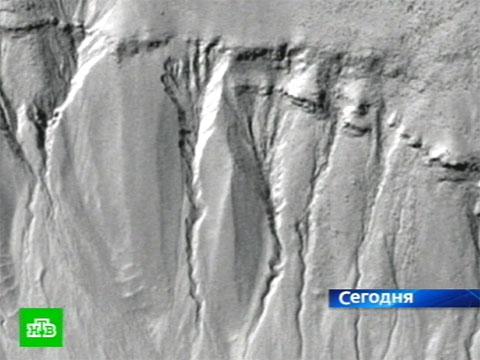 Вода на Марсе.космос, Марс, НАСА, наука, планеты.НТВ.Ru: новости, видео, программы телеканала НТВ