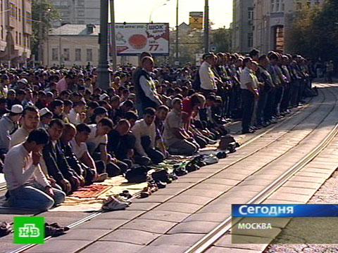 Сегодня мусульмане столицы отмечают Курбан-Байрам