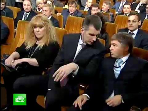 Пугачёва выступила на съезде «Правого дела».НТВ.Ru: новости, видео, программы телеканала НТВ