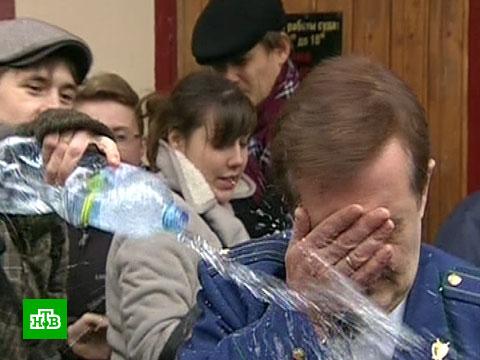 Суд вернул дело «мокрого прокурора» в полицию.болельщики, суды.НТВ.Ru: новости, видео, программы телеканала НТВ