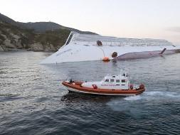 Спасательные работы у берегов Италии
