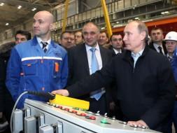 В. Путин в Ленинградской области