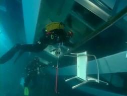 Первые кадры с затонувшей Costa Concordia