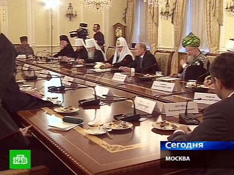 Патриарх сообщил Путину культурный код.выборы, Путин, религия.НТВ.Ru: новости, видео, программы телеканала НТВ