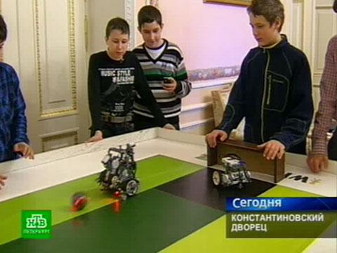 Константиновский дворец сыграл вроботов.НТВ.Ru: новости, видео, программы телеканала НТВ