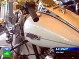 Полиция арестовала роскошные мотоциклы Каддафи