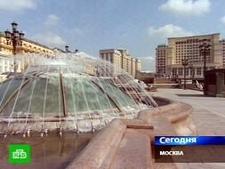 Московским фонтанам устроили проверку