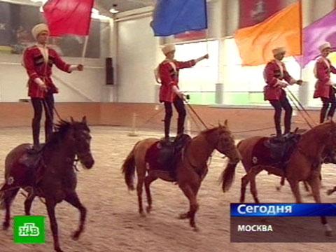 Кремлевские всадники готовятся покорить Великобританию.кони.НТВ.Ru: новости, видео, программы телеканала НТВ