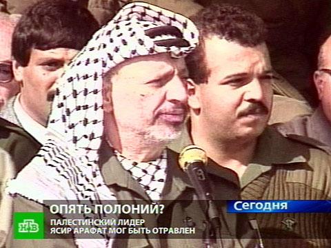 Арафат ждет эксгумации в бетонном склепе.Арафат, отравление, Палестина, эксгумация.НТВ.Ru: новости, видео, программы телеканала НТВ