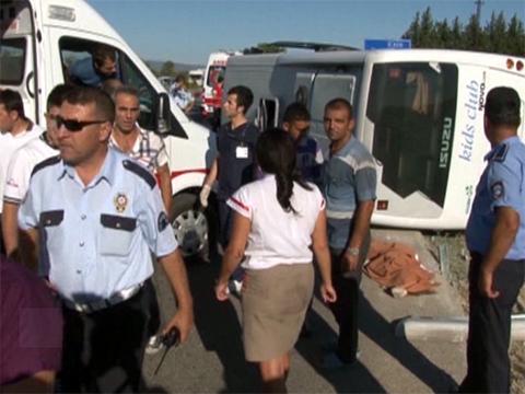 Российские туристы попали вДТП вТурции.автобус, Анталья, дети, ДТП, туристы, Турция.НТВ.Ru: новости, видео, программы телеканала НТВ