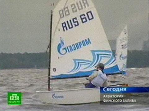 Начинающим яхтсменам раздали награды.Газпром, дети, регаты, Санкт-Петербург, спорт, яхты.НТВ.Ru: новости, видео, программы телеканала НТВ