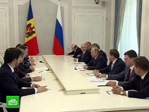 Владимир Путин: Россия готова инвестировать в Молдавию.Путин, Молдавия, визиты, инвестиции.НТВ.Ru: новости, видео, программы телеканала НТВ
