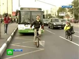 ВДень без автомобилей москвичи осваивают электрокары исигвеи