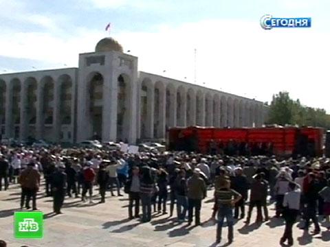 Парламент Киргизии стал жертвой «золотой лихорадки».беспорядки, Киргизия, митинги за рубежом.НТВ.Ru: новости, видео, программы телеканала НТВ
