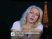 Голая ФЕМЕНистка шокировала арабов впрямом эфире.FEMEN, ислам, мусульмане, скандал.НТВ.Ru: новости, видео, программы телеканала НТВ