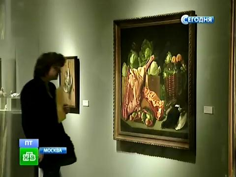 «Эффект бабочки» объясняет метаморфозы натюрморта.Третьяковская галерея, Москва, живопись, художники, выставки.НТВ.Ru: новости, видео, программы телеканала НТВ
