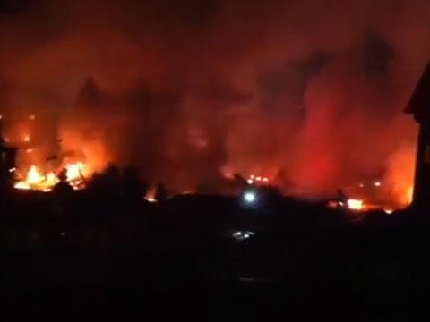 ВИндианаполисе взорвались два жилых дома.взрыв, пожары, США, эвакуация, погибшие.НТВ.Ru: новости, видео, программы телеканала НТВ