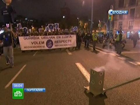 Европейский юг охватила всеобщая забастовка.Греция, забастовки, Испания, кризис еврозоны, Португалия.НТВ.Ru: новости, видео, программы телеканала НТВ
