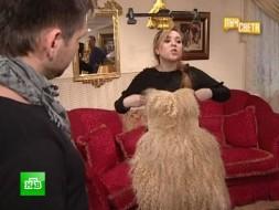 Волосатое платье Леди Гаги приглянулось Свете Курицыной