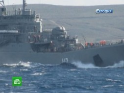 Морские пехотинцы плывут вСирию на борту «Новочеркасска»