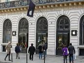 Вновогоднюю ночь вПариже обчистили магазин Apple.Apple, гаджеты, ограбление, Париж, полиция.НТВ.Ru: новости, видео, программы телеканала НТВ