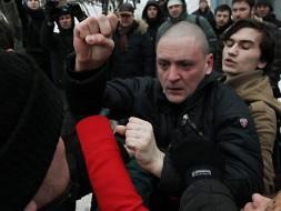 Полиция накажет избивших Удальцова нацболов