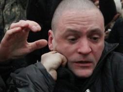 Избиение Сергея Удальцова на панихиде по Александру Долматову