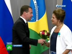 Медведев доставил бразильскому переводчику «непереводимые ощущения»