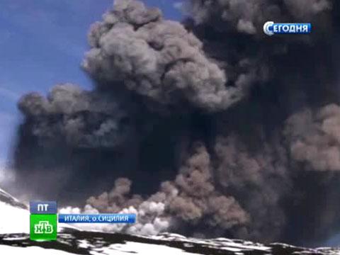 Извергающийся сицилийский вулкан манит отдыхающих.вулканы, извержение, Италия, стихия.НТВ.Ru: новости, видео, программы телеканала НТВ
