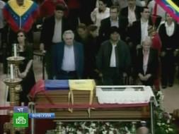 На время траура по Чавесу венесуэльцев обезоружили и отрезвили
