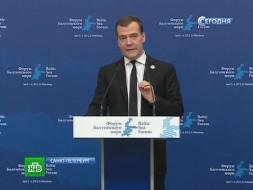 Балтийский форум в Санкт-Петербурге открыл Дмитрий Медведев