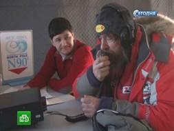 Фёдор Конюхов иего собаки начали арктическую гонку на полюсе