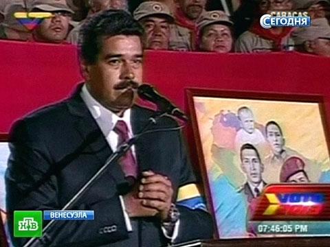 Мадуро и Каприлес вместе с питомцами готовы принять волю народа.Венесуэла, Уго Чавес, выборы, президент.НТВ.Ru: новости, видео, программы телеканала НТВ