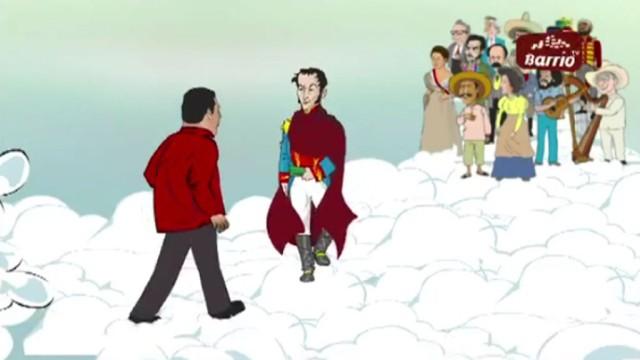 Венесуэльцам показали жизнь Уго Чавеса на небесах.Венесуэла, мультфильмы, Чавес.НТВ.Ru: новости, видео, программы телеканала НТВ