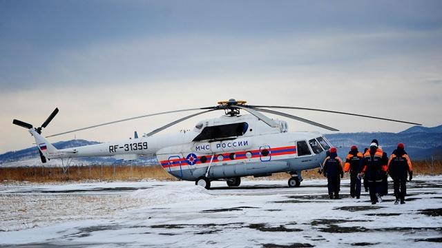 Поиски погибших вкатастрофе Ми-8 продолжатся на рассвете.авиакатастрофа, вертолет, Иркутская область, Ми-8, МЧС.НТВ.Ru: новости, видео, программы телеканала НТВ