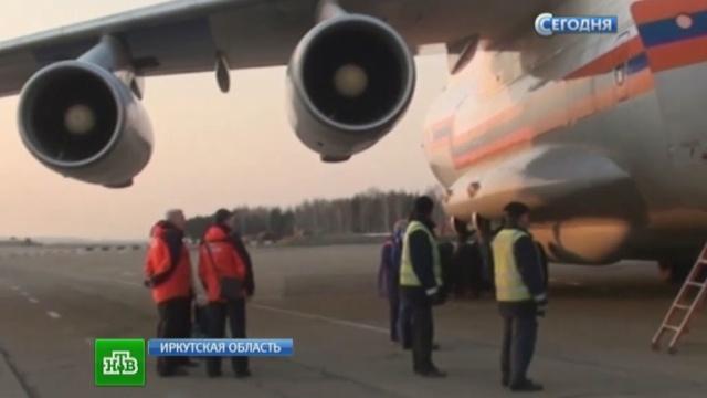 На месте крушения Ми-8 не находят ни живых, ни мертвых.авиакатастрофа, вертолет, Иркутская область, Ми-8, МЧС.НТВ.Ru: новости, видео, программы телеканала НТВ