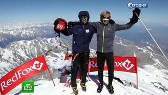 Российский спортсмен стал вторым в забеге на одну из вершин Эльбруса