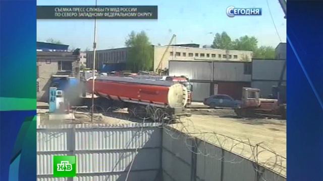 Водители бензовозов воровали топливо за спиной у нефтяников.бензин, кражи, Санкт-Петербург.НТВ.Ru: новости, видео, программы телеканала НТВ