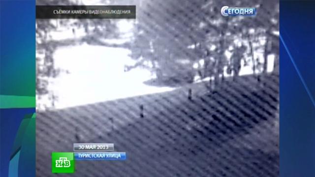 Видеокамеры зафиксировали машину грабителей «Сбербанка».банки, ограбления, Санкт-Петербург, Сбербанк, эксклюзив.НТВ.Ru: новости, видео, программы телеканала НТВ