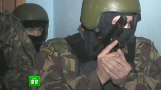 Спецназ ФСБ взял организатора серии терактов вМоскве.боевики, спецоперации, теракт.НТВ.Ru: новости, видео, программы телеканала НТВ