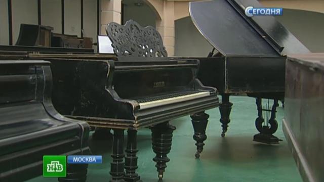 Московский музыкант организовал приют для старых роялей.коллекции, Москва, музыкальные инструменты, музыканты.НТВ.Ru: новости, видео, программы телеканала НТВ